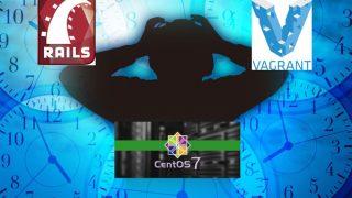 ceos7+rails4+vagrant+virtualbox