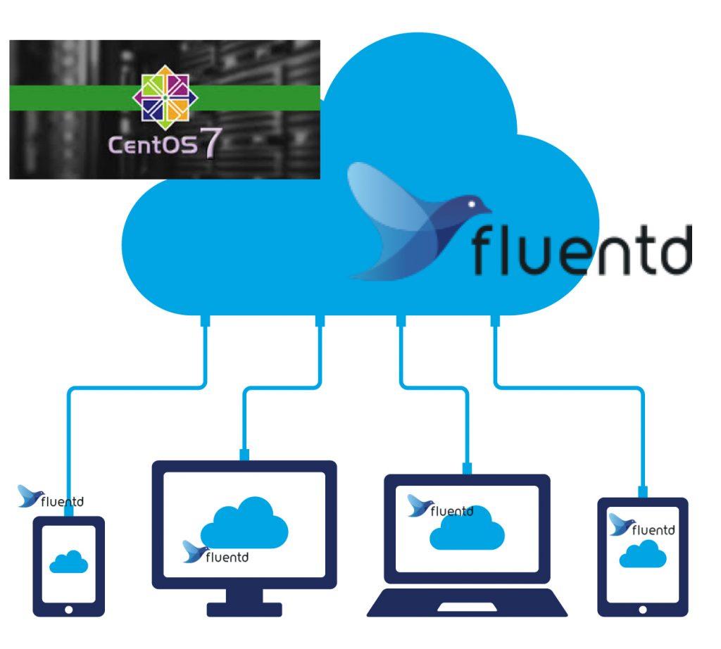 CnetOS7にFluentdをAggregatorNodeとして構築する