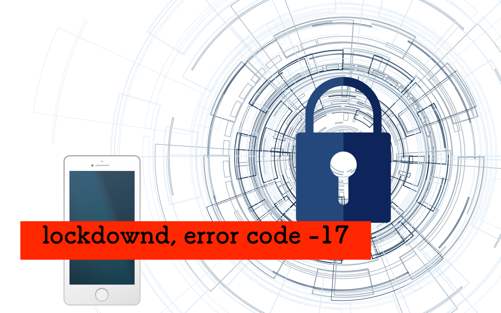 Could not connect to lockdownd, error code -17 が出たとき
